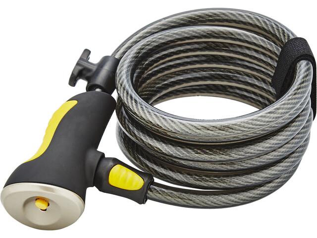 Onguard Dobermann 8029 Spiral Cable Lock 185cm Ø10mm